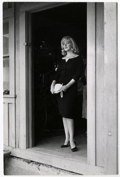 "perfectlymarilynmonroe: ""Marilyn photographed by Inge Morath, 1961. """