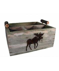 Wooden Moose Caddy