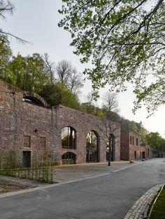 Heidelberg Castle restoration by Max Dudler