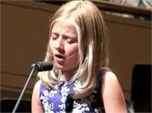 Listen to This Little Girl's Heart-Stopping Version of The Lord's Prayer - WOW! She is awesome. A voice like an angel.