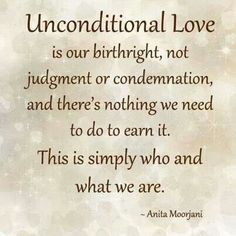 Unconditional Love is taught in our family through the good times and the bad  but we are still standing with our Unconditional Love <3