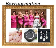 """Earringsnation-17"" by nihada-niky ❤ liked on Polyvore featuring earringsnation"