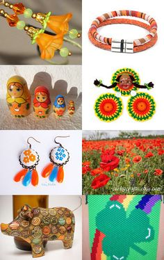 Colourfull day by Renata on Etsy--Pinned with TreasuryPin.com