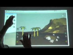 Eden: A Professional Multitouch Tool for Constructing Virtual Organic Environments