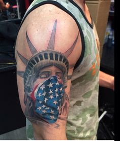 @jpmtattoos - Statue of Liberty Tattoo