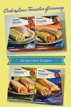 CedarLane's New Gluten-Free, Vegetarian Tamales Giveaway 7/1 - Moms Own Words