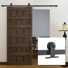 T shape design barn door hardware/sliding door kit