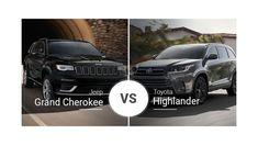 Suv Comparison, Jeep Grand Cherokee, Brake Pads, Toyota