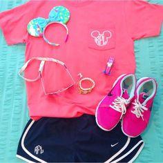 Preppy Disney outfit