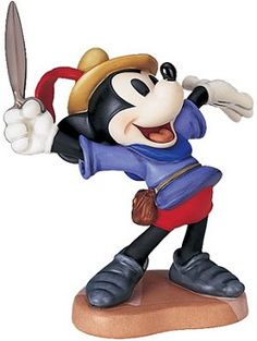 WDCC Disney Classics Brave Little Taylor Mickey Mouse I Let 'em Have It #WDCCDisneyClassics #Art.   Scissors: Matte platinum finish used to resemble well-worn pewter. Backstamp: Animator's Choice backstamp incorporates the Society logo. Animator's Choice-1993.   Closed 03/94