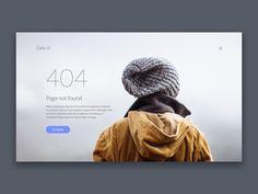 404 Page Inspiration — Muzli -Design Inspiration — Medium