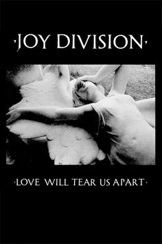 JOY DIVISION LOVE WILL TEAR US APART POSTER $7.00 #joydivision #poster #housewares