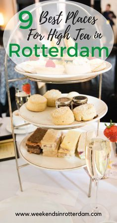 We present to you the best places to enjoy an afternoon high tea in Rotterdam filled with scones, cakes, chocolate, and more scones! Rotterdam, Europe Travel Tips, Europe Europe, European Travel, Travel Guides, Best Places To Eat, Amazing Places, Best Blogs, International Recipes