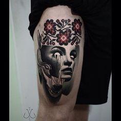 ❤️ @timur_lysenko ❤️ #perfecttattoo #perfectartist #perfectart #abstract #abstractart #abstracttattoo #abstractrealism #realism #realismtattoo #timur #thigh #thightattoo #tattoo #tattooed #tattooart #tattooartist @timur_lysenko ✨