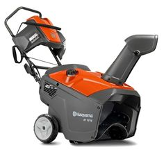Husqvarna 21-Inch 6.8Hp Gas Single Stage Snow Blower with Electric Start ST121E,    #Husqvarna Snow Removal