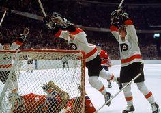 The famous LCB Line (Reggie Leach, Bobby Clarke and Bill Barber) | Philadelphia Flyers | NHL | Hockey