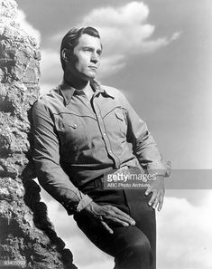 CHEYENNE - gallery - Season Four - Clint Walker , Get premium, high resolution news photos at Getty Images Cheyenne Bodie, Clint Walker, Tv Westerns, Western Movies, Jon Snow, Movie Tv, Handsome, Hollywood, Hero