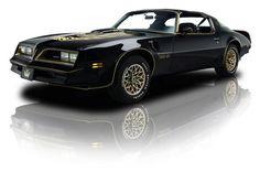 1978 Pontiac Firebird Trans Am Black SE Y82 W72 400 V8 another one of Dads ole Cars