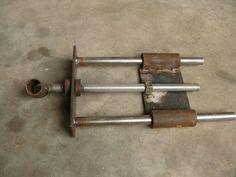 homemade vise hardware - by Greedo @ LumberJocks.com ~ woodworking community: