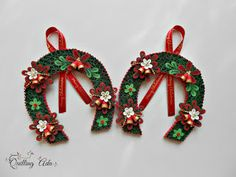 Quilling - Christmas ornament