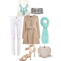 A fashion look from May 2013 featuring Oasis dresses, H&M jeans and Charlotte Russe pumps. Browse and shop related looks.