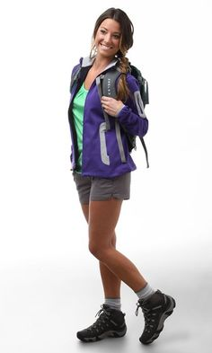 Trendy Cute Camping Outfits For Women Hiking Boots Hiking Boots Outfit, Cute Hiking Outfit, Trekking Outfit, Summer Camping Outfits, Boating Outfit, Summer Outfits, Hiking Outfits, Hiking Clothes, Hiking Dress
