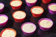 Ingredients 8 oz fat-free cool whip 6 tbsp peanut butter 4 tbsp Hershey's chocolate syrup Directions Combine Cool Whip and peanut butter. Line mini muffin pan with 24 mini cupcake liners and spoon in mixture. Top with a drizzle of syrup and freeze Nutritional Info Yields: 24