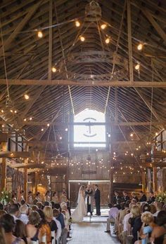 rustic barn wedding perfection