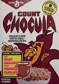 Count Chocula cereal  c. 1973