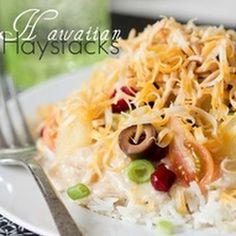 Hawaiian Haystacks - Crockpot Recipe | Key Ingredient