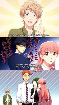 Wotakoi: Love is Hard for Otaku - Anime Vf, Manga Anime, Otaku Anime, Anime Guys, Slice Of Life, Koi, Manhwa, Tous Les Anime, Gekkan Shoujo Nozaki Kun