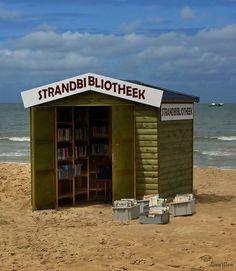 Beach Bookshop in Belgium