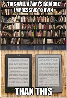 If I had to read on a tablet, then I probably wouldn't read. I don't like reading on tablets.