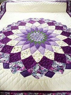 Amish Quilt Giant Dahlia Pattern - love Amish quilts, need to find this pattern Amische Quilts, Patchwork Quilting, Hand Quilting, Machine Quilting, Star Quilts, Sampler Quilts, Quilting Projects, Quilting Designs, Sewing Projects