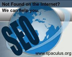 Can't found on the Internet? Let Expert Team of @Spaculus help you. Call us now for Affordable Search Engine Optimization Services.