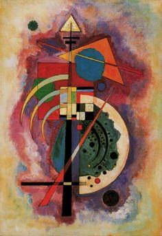 Wassily Kandinsky, Hommage a Grohmann, 1926
