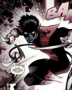 Nightcrawler in Spider-Man/Deadpool #14 (2015)