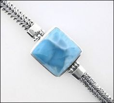 MarahLago V-Chain Larimar Bracelet