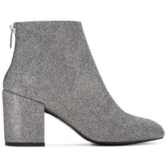Stuart Weitzman BACARI ($530) ❤ liked on Polyvore featuring shoes, boots, ankle booties, silver boots, stuart weitzman boots, silver booties, stuart weitzman and stuart weitzman booties