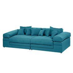 Big sofa Nelson - Tessuto - Turchese