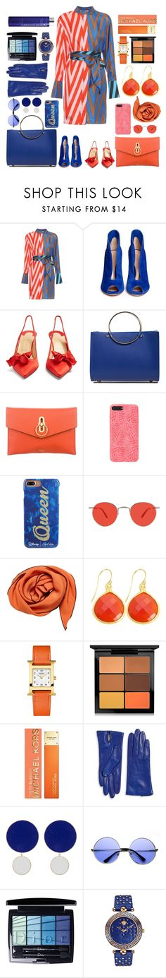 """n.o.i."" by laura1994 ❤ liked on Polyvore featuring Diane Von Furstenberg, Gianvito Rossi, Christian Louboutin, Future Glory Co., Mulberry, Edie Parker, Garrett Leight, Hermès, Alchemy Jewelry and MAC Cosmetics"