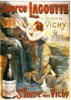 Blog de auvergnebassinauzonbrassac :Auvergne a travers les temps, Publicités anciennes Auvergnates: Vichy (03)