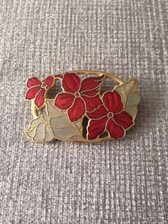 Vintage Enamel Cloisonne Collectable Fish Crown Brooch in Jewellery & Watches, Vintage & Antique Jewellery, Vintage Costume Jewellery | eBay
