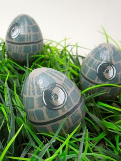 Death Star Easter Eggs