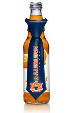 University of Auburn tie Bottle Topper has blinking lights CT-13-103