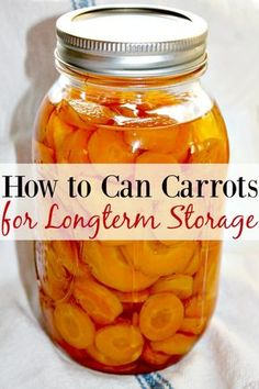 Learning how to can your own foods? It's easy! Let me show you how to can carrots for longterm storage! You're sure to be shocked at how easy it is!