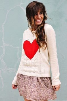 10 Stylish Heart Sweaters for Valentine's Day