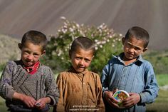 Maula Jutt (Afzal) with his friends at Garam Chasma Broghil