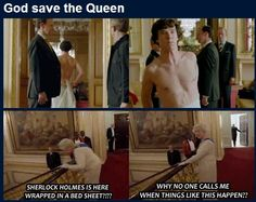 The Queen of England is more awesome than I expected