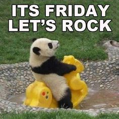 It's Friday Let's Rock